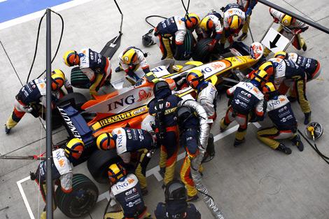 Refueling F1