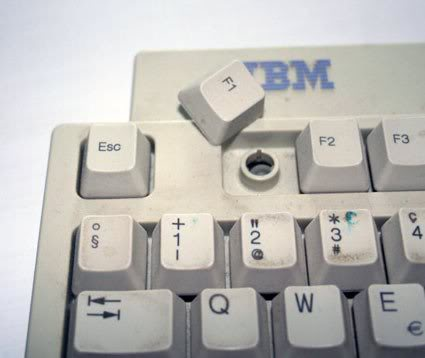 Button F1 broken