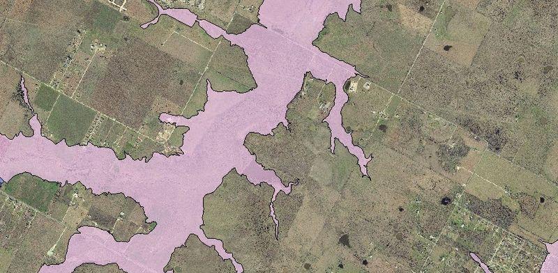 Elroy Road Flood Map